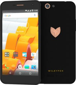 WileyFox Spark X Smartphone 16GB Sandstone Black
