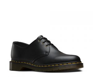 Dr Martens Vegan 1461 Black Felix Rub Off Shoes