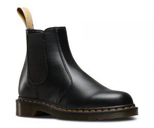 Dr Martens Vegan 2976 Black Felix Rub Off Chelsea Boots