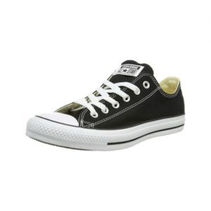 Converse Unisex Black All Star Low Top Sneakers