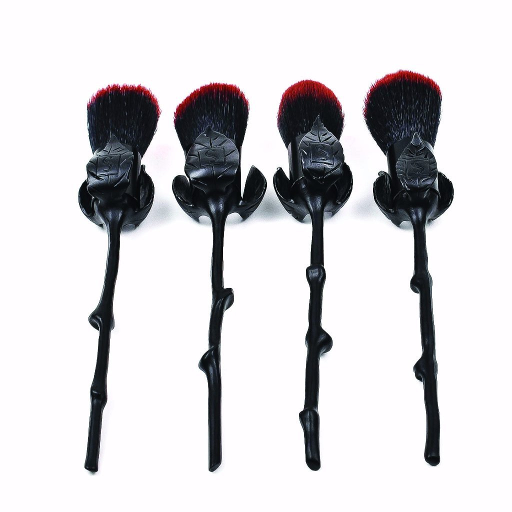 Storybook Cosmetics Roses Are Black Brushes I Want It Black