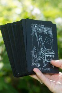 Wanderer's Tarot ~ Midnight Edition - Black Tarot Cards