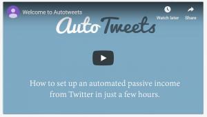 Auto Tweets
